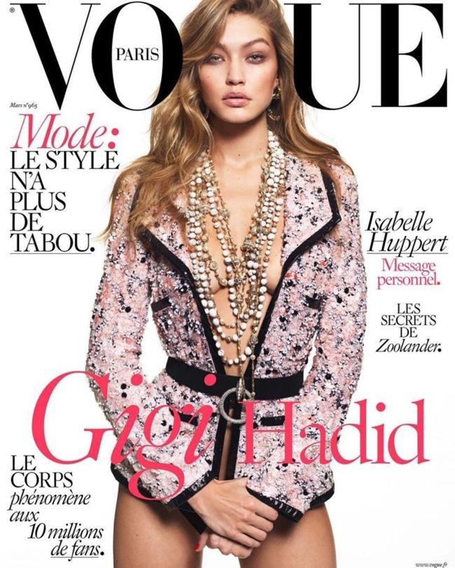 VOGUE PARIS Gigi Hadid by Mert & Marcus. Emmanuelle Alt, March 2016, www.imageamplified.com, Image Amplified (1)