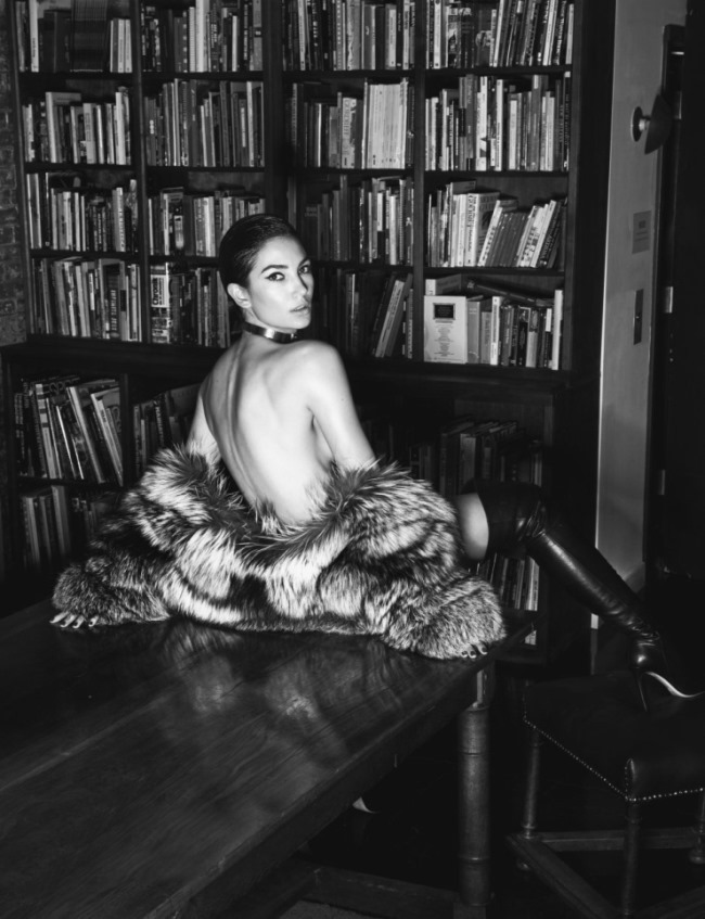 LUI MAGAZINE Lily Aldridge by David Bellemere. Elizabeth Sulcer, March 2016, www.imageamplified.com, Image amplified (9)
