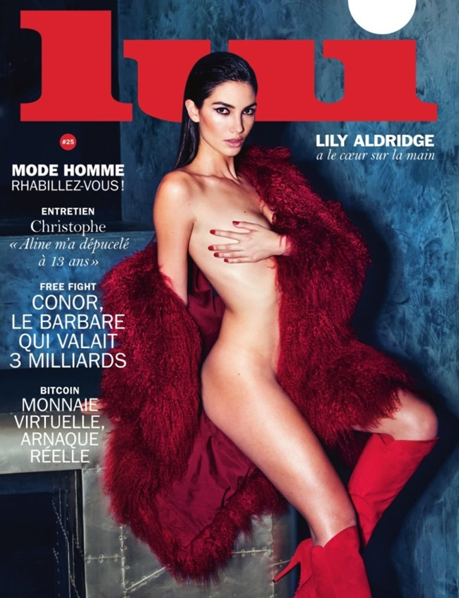 LUI MAGAZINE Lily Aldridge by David Bellemere. Elizabeth Sulcer, March 2016, www.imageamplified.com, Image amplified (1)