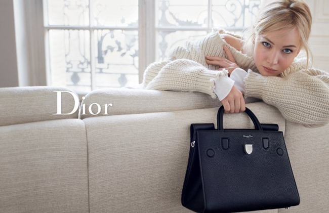 CAMPAIGN Jennifer Lawrence for Dior Handbags Spring 2016 by Mario Sorrenti. www.imageamplified.com, Image Amplified (1)