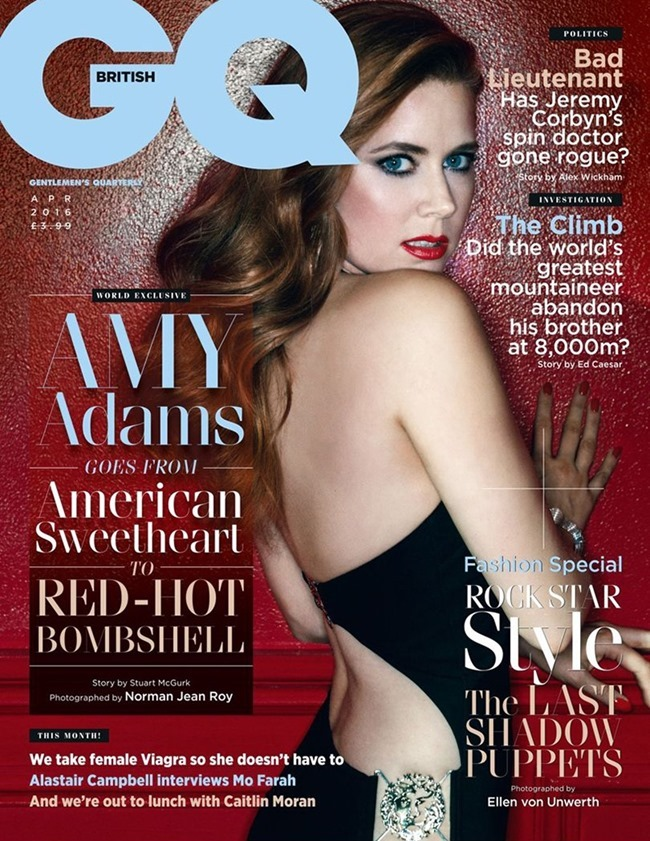 GQ UK Amy Adams by Norman Jean Roy. April 2016, www.imageamplified.com, Image Amplified (3)
