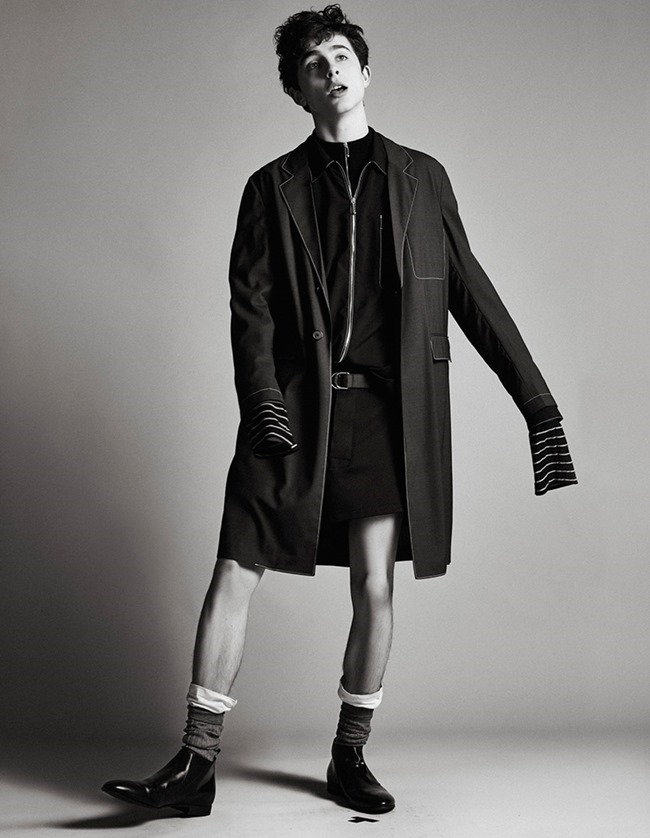 W MAGAZINE Timothee Chalamet by Luca Khouri. Sam Walker, Spring 2016, www.imageamplified.com, Image amplified (4)