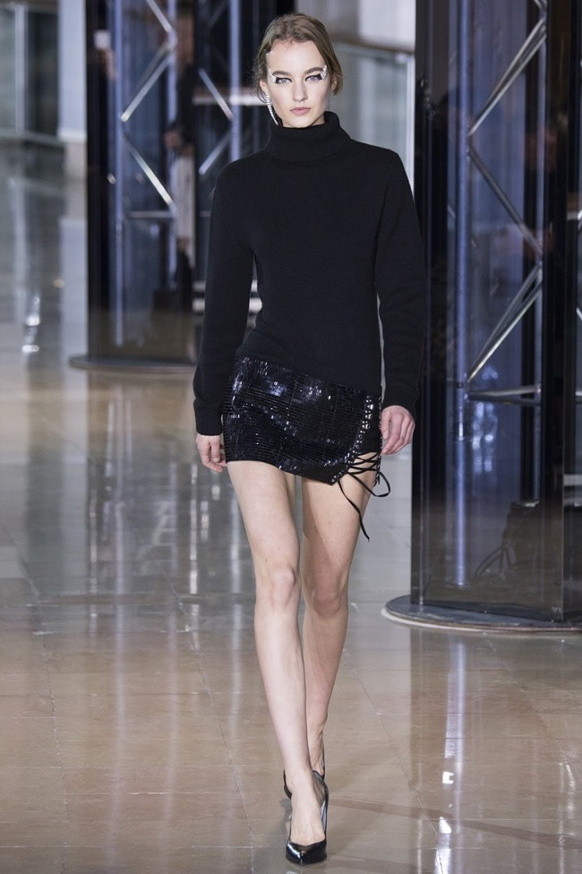 PARIS FASHIONW WEEK Anthony Vaccarello Fall 2016. www.imageamplified.com, Image Amplified (10)