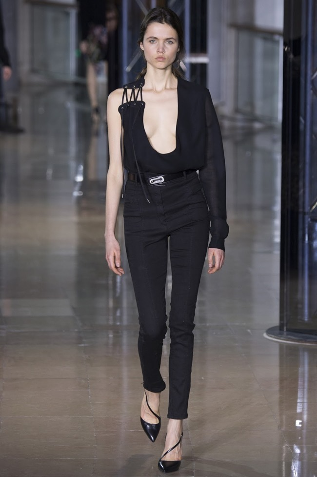 PARIS FASHIONW WEEK Anthony Vaccarello Fall 2016. www.imageamplified.com, Image Amplified (30)