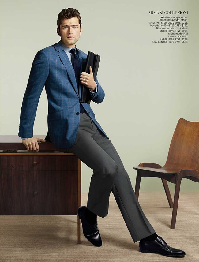 CATALOGUE Sean O'Pry for Saks Fifth Avenue March 2016 by David Slijper. Bill Mullen, www.imageamplified.com, Image Amplified (5)